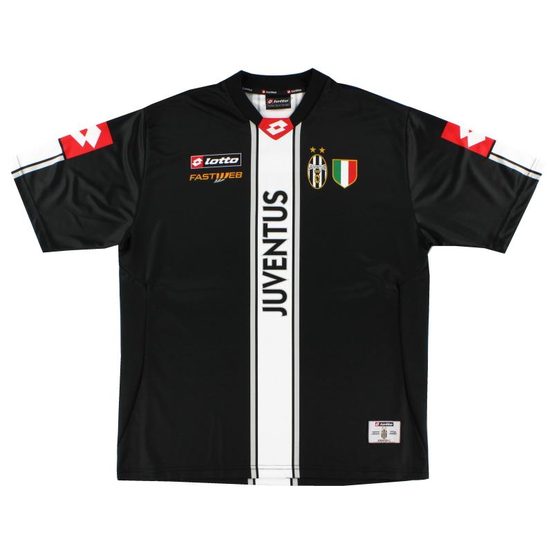 2001-02 Juventus Training Shirt XXL