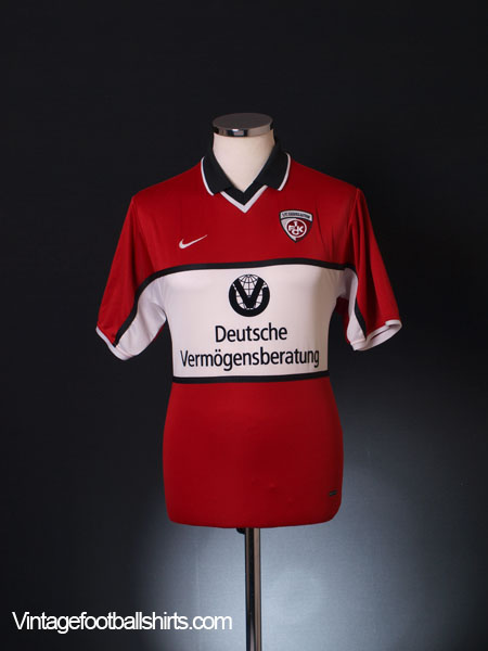 2001-02 Kaiserslautern Home Shirt S