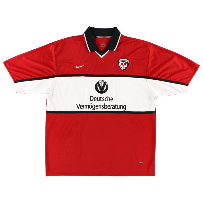 2001-02 Kaiserslautern Home Shirt XL