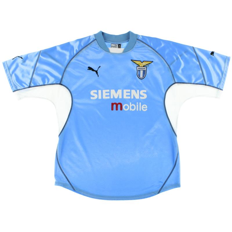 2001-02 Lazio Puma Home Shirt L
