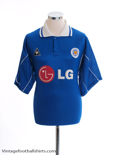 2001-02 Leicester Home Shirt L