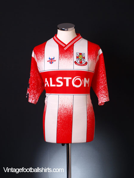 2001-02 Lincoln City Home Shirt *Mint* M