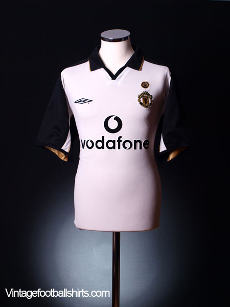 2001-02 Manchester United Centenary Reversible Away Shirt S