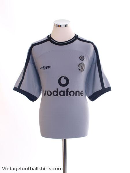 2001-02 Manchester United Centenary Goalkeeper Shirt L