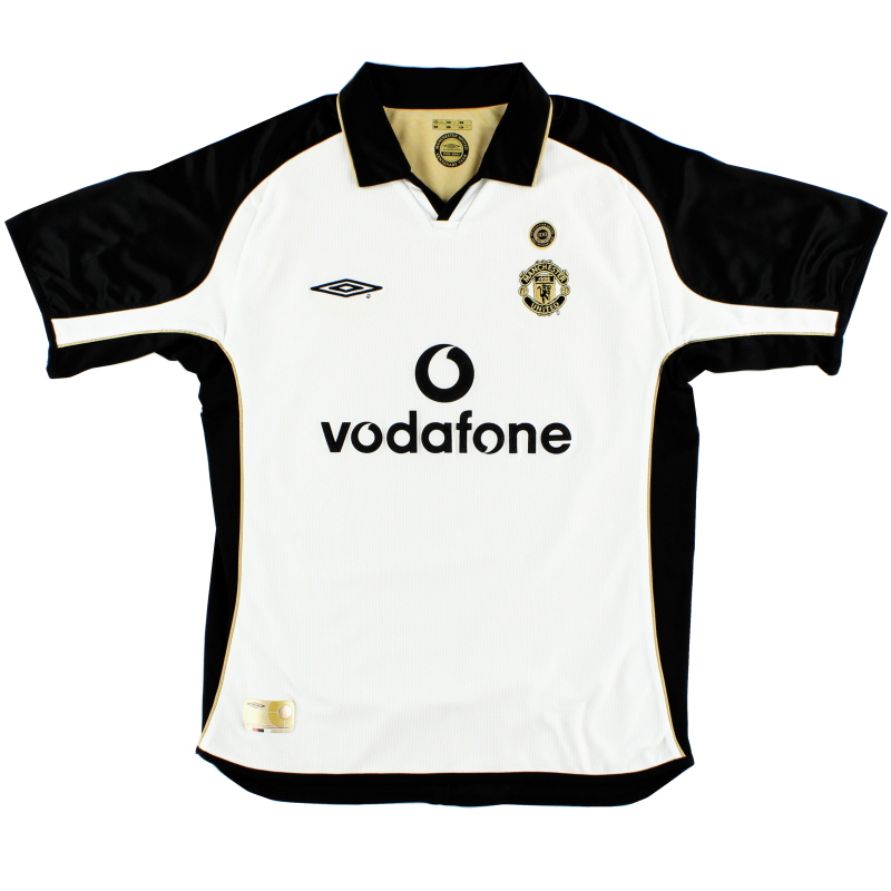 2001-02 Manchester United Centenary Reversible Away Shirt L
