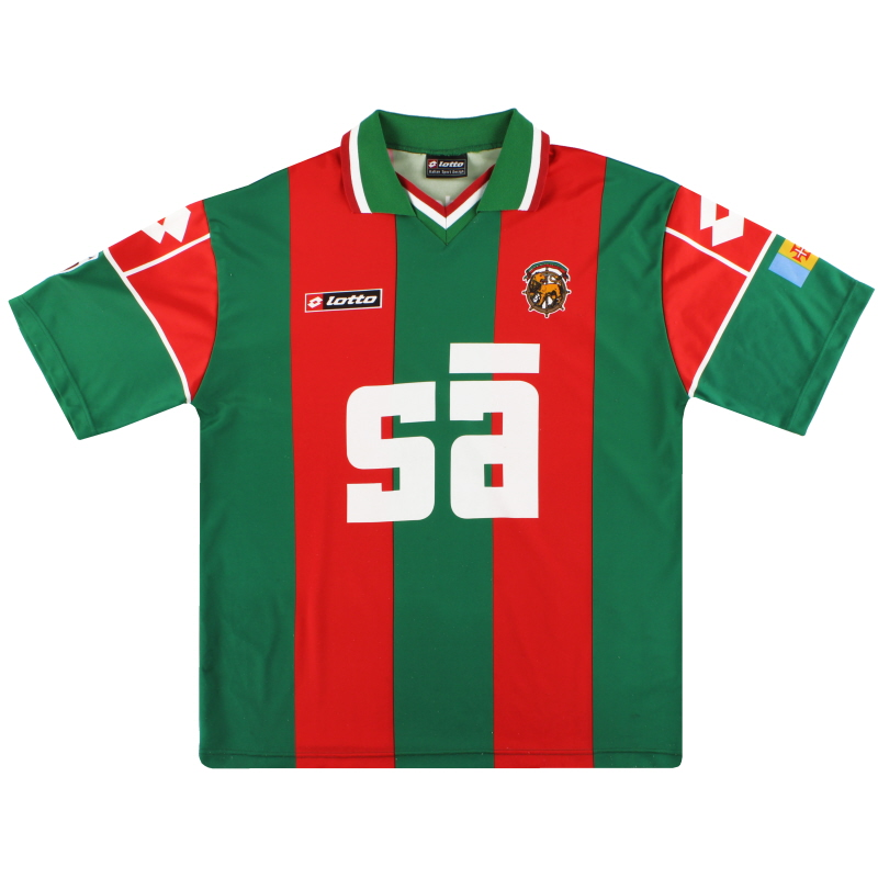 2001-02 Maritimo Lotto Home Shirt L
