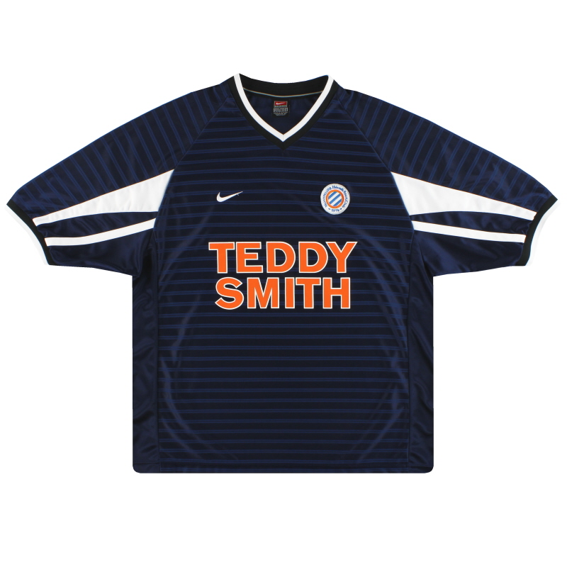 2001-02 Montpellier Nike Home Shirt *Mint* XL