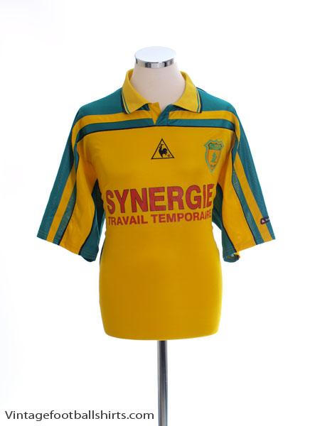 2001-02 Nantes Home Shirt L