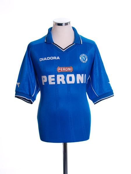 2000-01 Napoli Home Shirt L