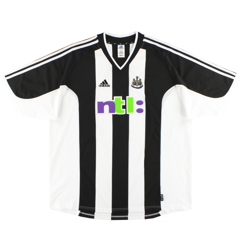 2001-02 Newcastle adidas Home Shirt XL - 907417