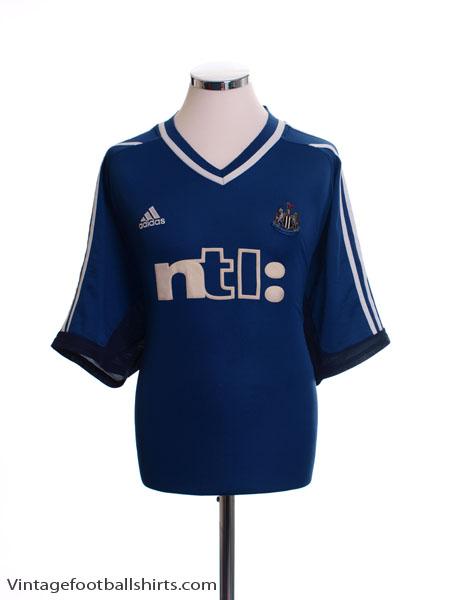 2001-02 Newcastle Away Shirt M