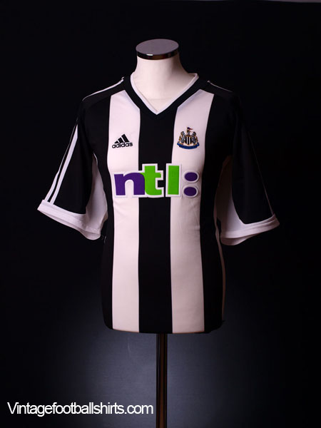2001-02 Newcastle Home Shirt L
