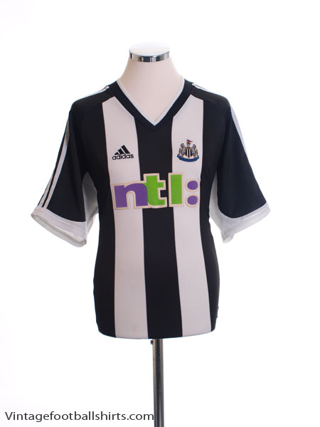 2001-02 Newcastle Home Shirt L
