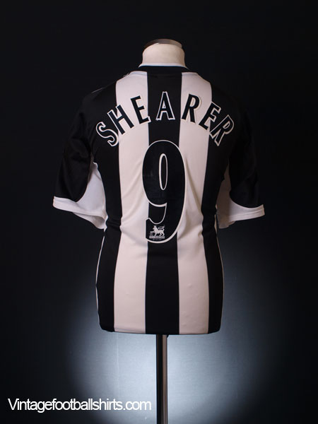 2001-02 Newcastle Home Shirt XL