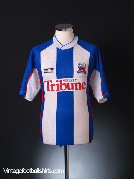 2001-02 Nuneaton Borough Home Shirt M