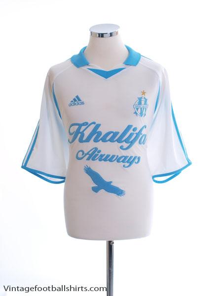 2001-02 Olympique Marseille Home Shirt XL