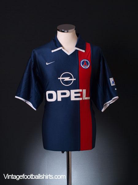 2001-02 Paris Saint-Germain Home Shirt L