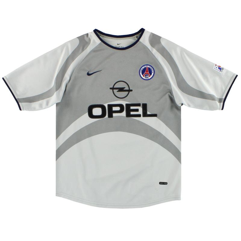 2001-02 Paris Saint-Germain Nike Away Maglia L.Boys in vendita