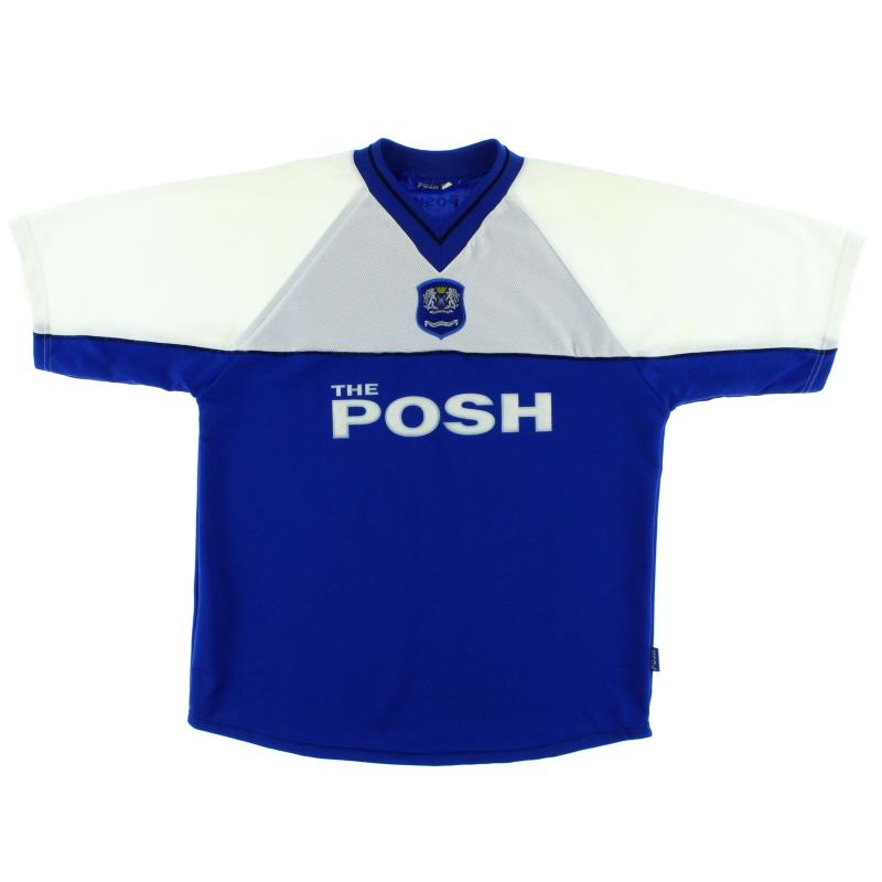 2001-02 Peterborough Home Shirt L