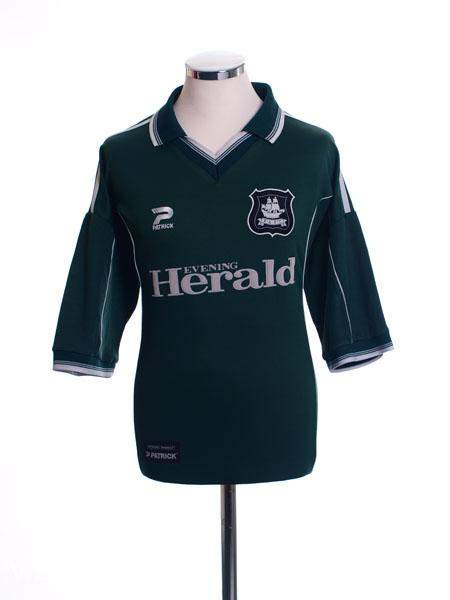 2001-02 Plymouth Home Shirt XL