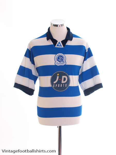2001-02 QPR Home Shirt L