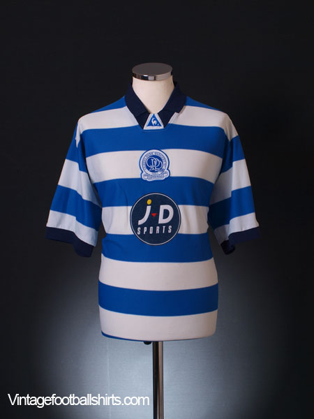 2001-02 QPR Home Shirt XL