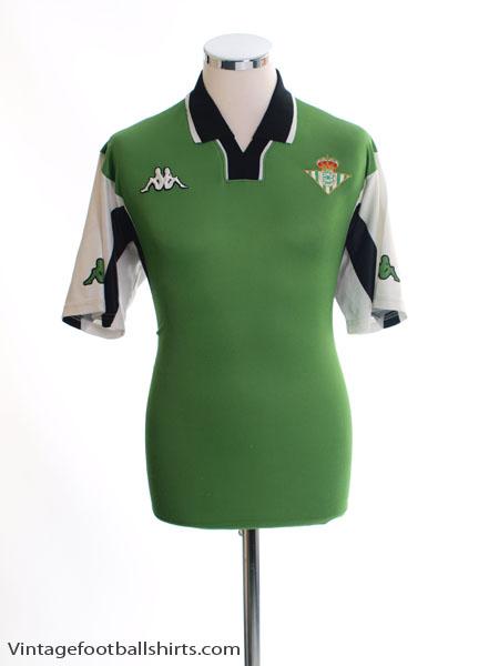 2001-02 Real Betis Training Shirt M