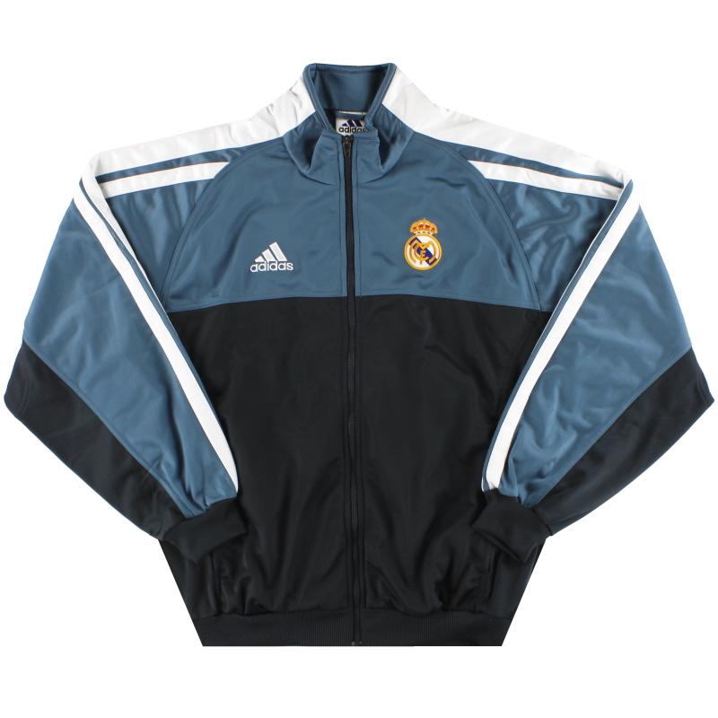 2001-02 Real Madrid adidas Track Jacket *Mint* M/L