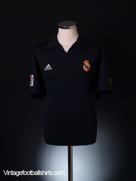 2001-02 Real Madrid Centenary Away Shirt XL