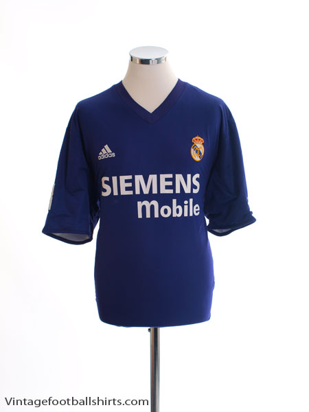 2001-02 Real Madrid Centenary Third Shirt S