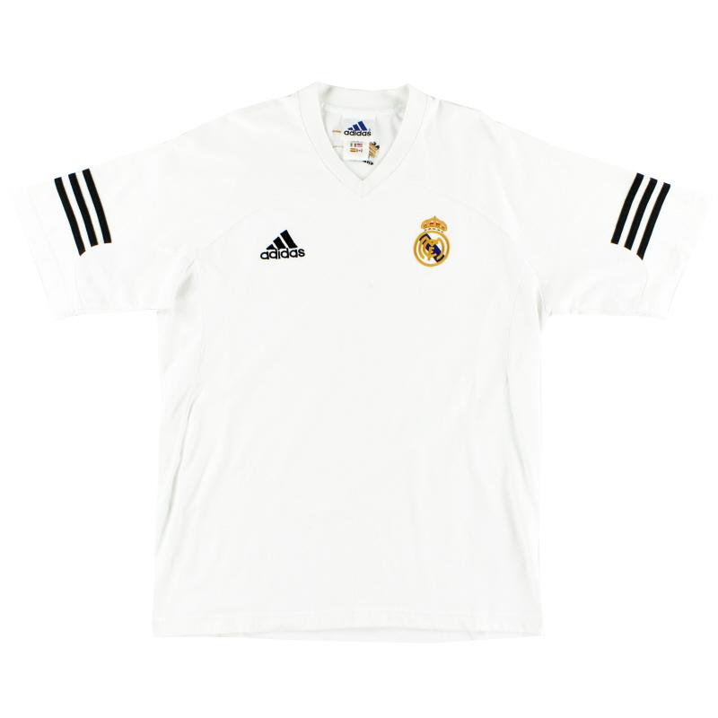 2001-02 Real Madrid Centenary Training Shirt S