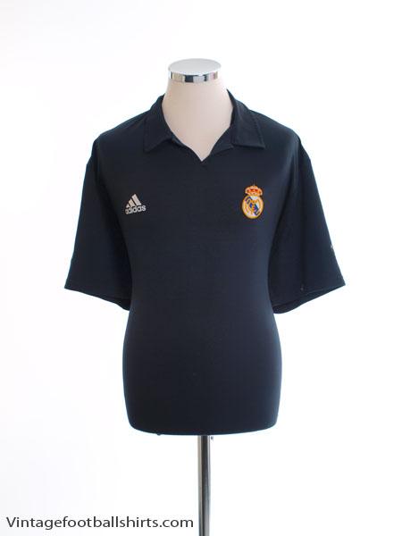 2001-02 Real Madrid Centenary Away Shirt L