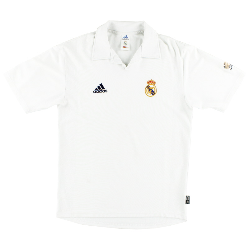 2001-02 Real Madrid Centenary Home Shirt L - 156653