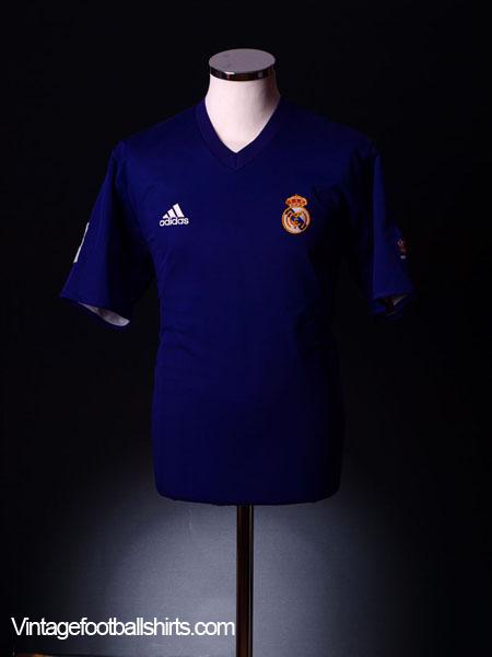 2001-02 Real Madrid Third Shirt XL