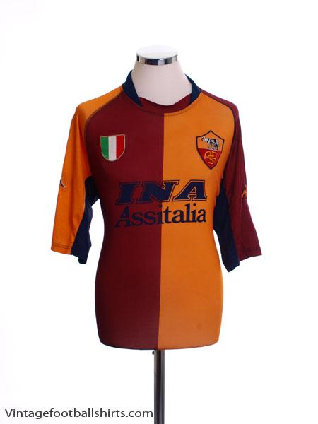 2001-02 Roma European Shirt XXL