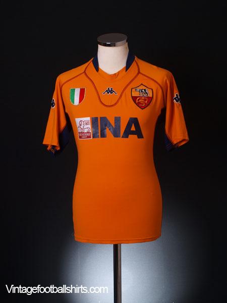 8ed65eeac59 2001-02 Roma Goalkeeper Shirt L for sale