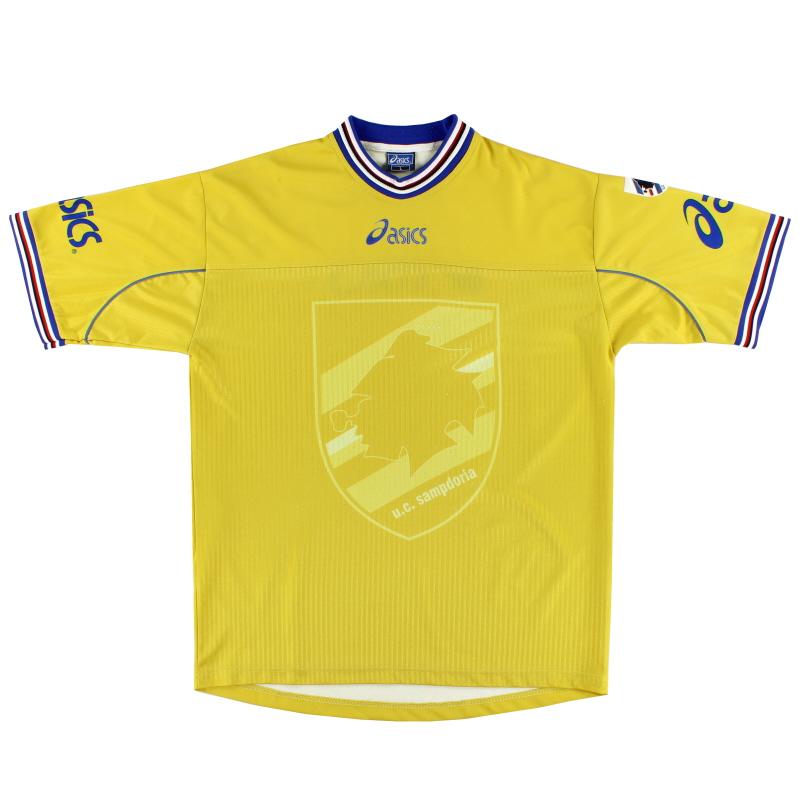 2001-02 Sampdoria Training Shirt L