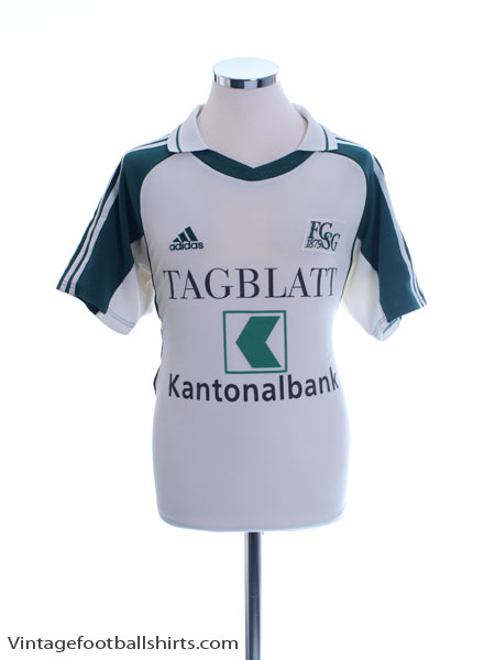 2001-02 St Gallen Home Shirt S
