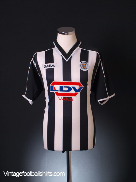 2001-02 St Mirren Home Shirt *BNWT* M