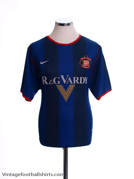 2001-02 Sunderland Away Shirt M