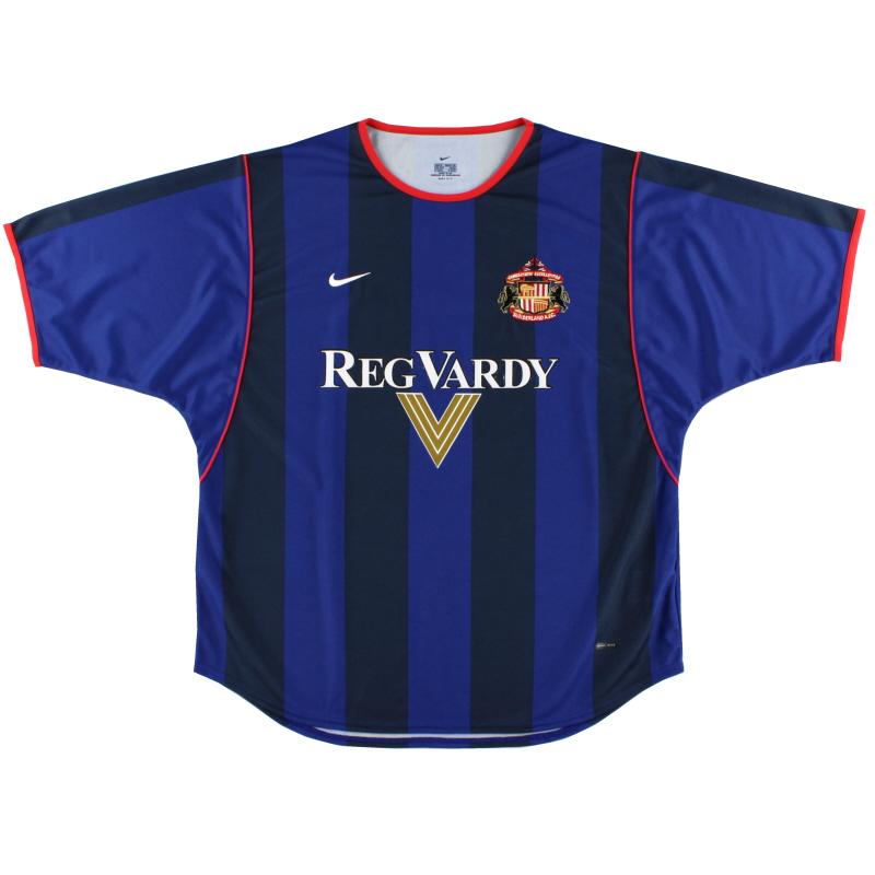 2001-02 Sunderland Nike Away Shirt L