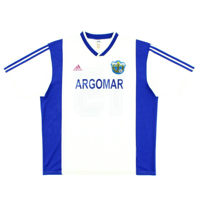 2001-02 Torpedo Kutaisi Home Shirt #15 XL