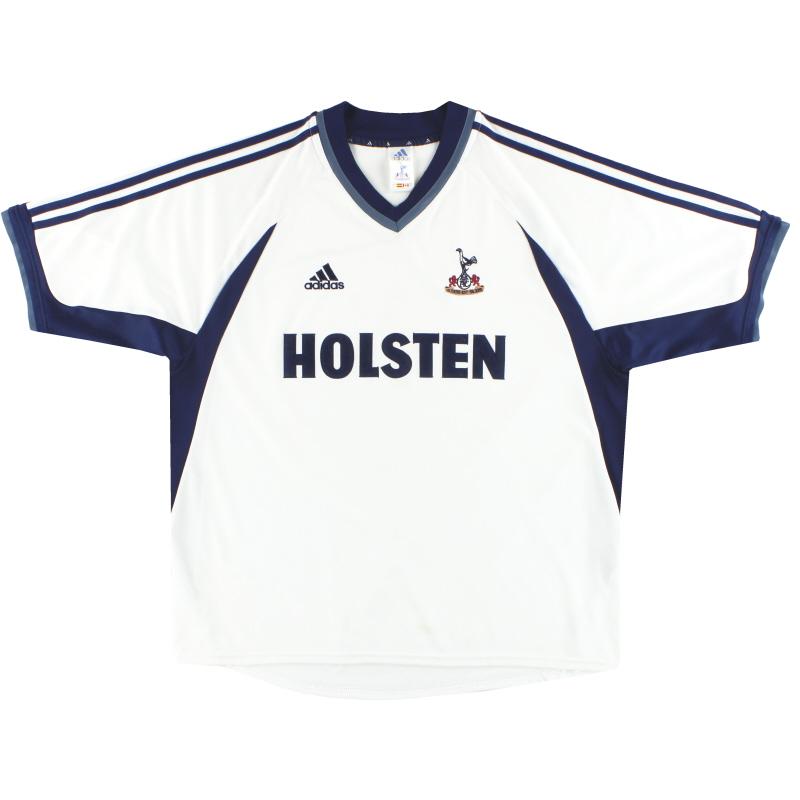 2001-02 Tottenham adidas Home Shirt L - 907428