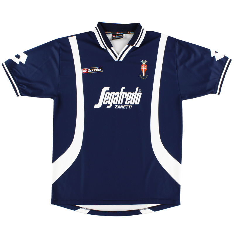 2001-02 Treviso Away Shirt  XL