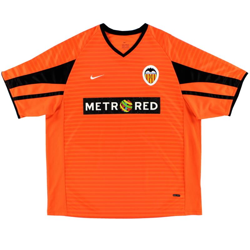 2001-02 Valencia Nike Away Shirt *Mint* L