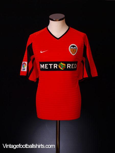 2001-02 Valencia Away Shirt S