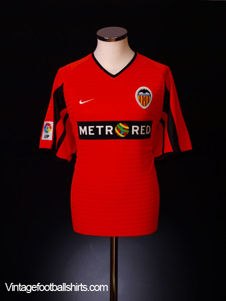 2001-02 Valencia Away Shirt XL