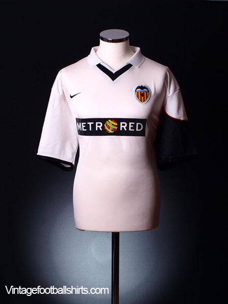 2001-02 Valencia Home Shirt XL