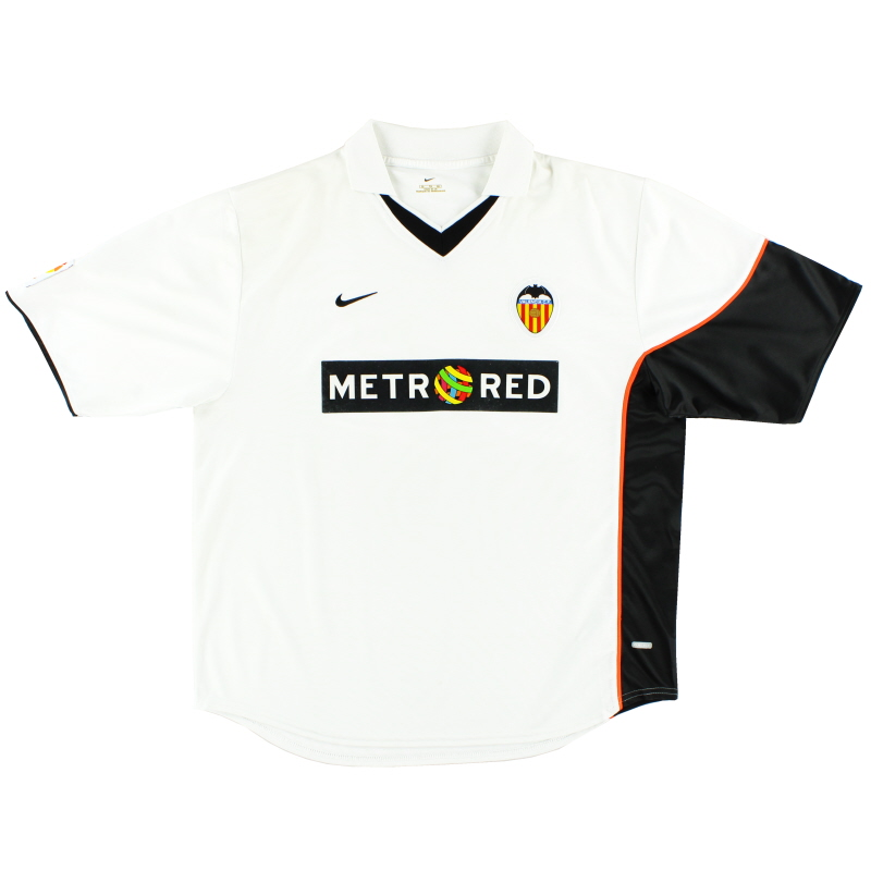 2001-02 Valencia Home Shirt XL - BN 66481