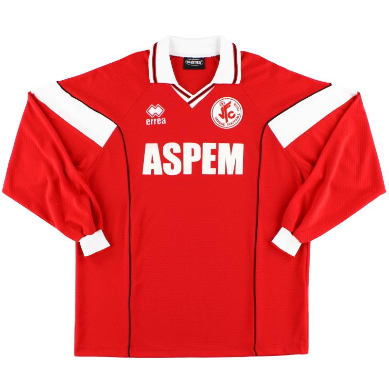 2001-02 Varese FC Errea Home Shirt L/S XXL